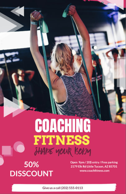 Online Flyer Maker to Design Flyers for Gyms a37
