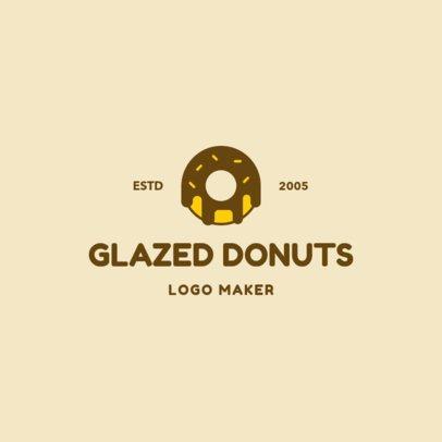 Logo Maker to Design a Logo for a Donut Brand 1232d