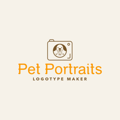 Photography Logo Maker for Pet Photographers 1196d