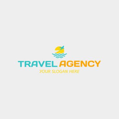 Logo Maker to Design Travel Agency Logos 1148a