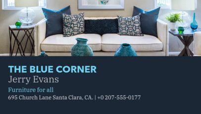 Furniture Business Card Maker 176c