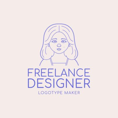 Freelance Designer Logo Maker with Avatar Generator 1170b