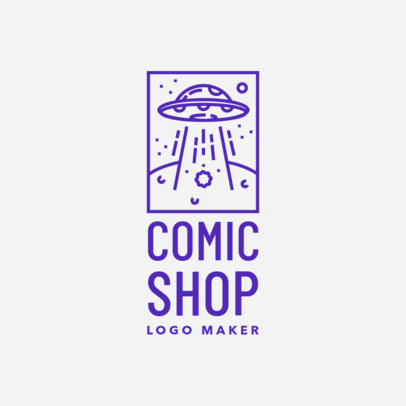 Online Logo Maker for Comic Shops with Fantasy Illustrations 1142f