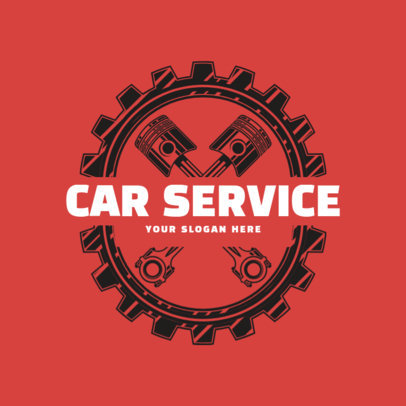 Online Logo Maker for a Car Service Shop 1165b