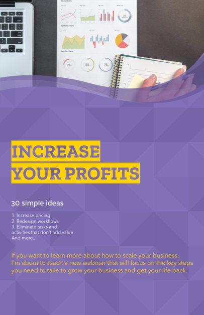 Online Flyer Maker for a Business Class 149e