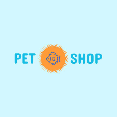 Pet Store Logo Maker 1161e
