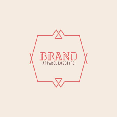 Online Logo Maker for a Clothing Brand with Vintage Graphics 1053e
