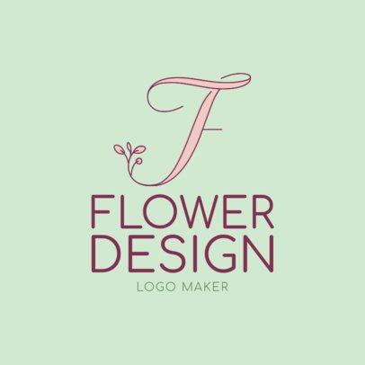 Online Logo Maker to Design a Florist Logo 1138c