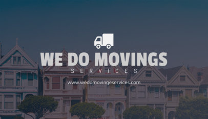 Business Card Maker for Movers and Packers 202e