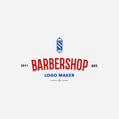 Barber Shop Logo Maker1119b