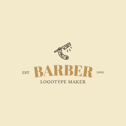 Hairdresser Logo Maker 1119e