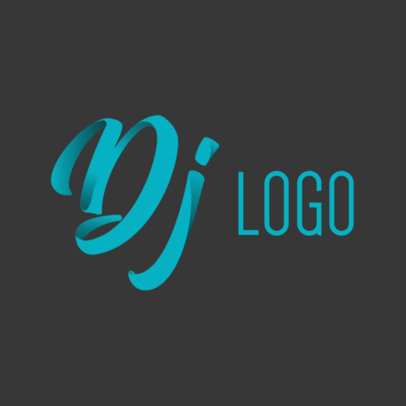 Logo Maker for Fancy DJ Designs 1081d