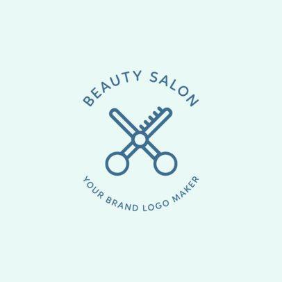Beauty Salon Logo Maker 1145f