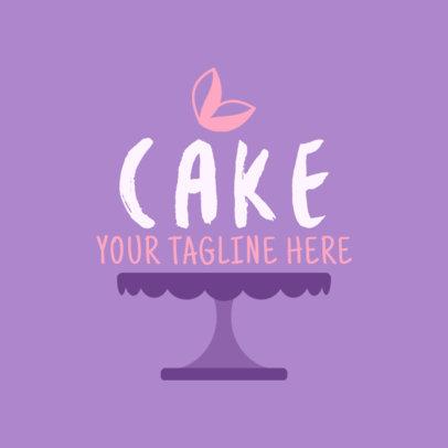 Cake Logo Maker 1114a