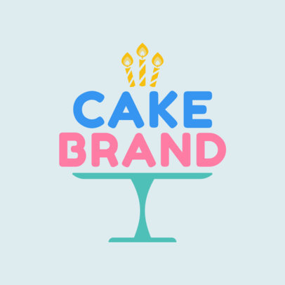 Cake Shop Logo Maker 1114c
