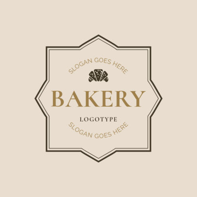 Bakery Badge Logo Maker 1115b