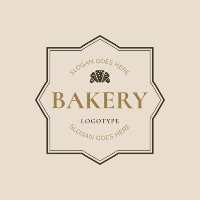 Bakery Badge Logo Maker 1115b