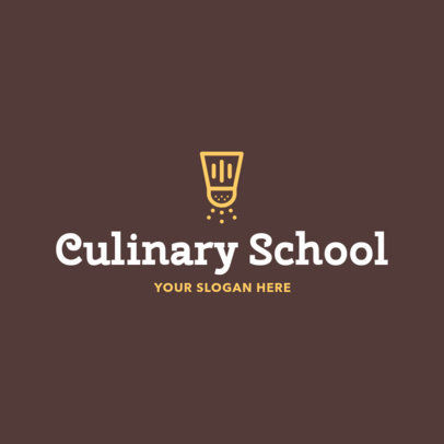 Online Logo Maker for Culinary Schools 1011b