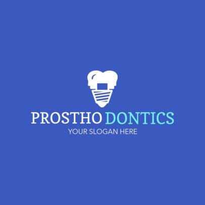Online Logo Maker for Prosthodontists 1026c
