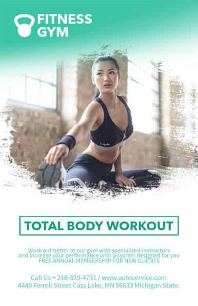 Placeit Online Flyer Template For Personal Training
