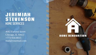 Home Contractor Business Card Maker 230d