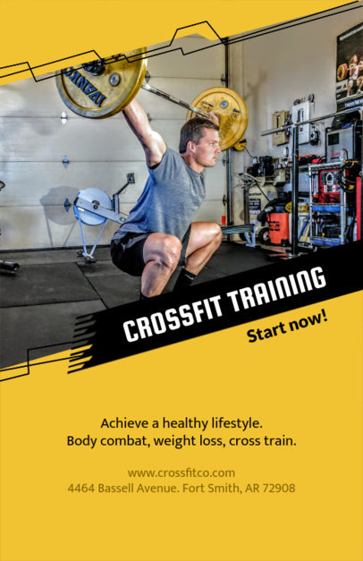 Crossfit Flyer Maker 106c