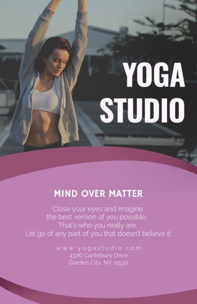Yoga Online Flyer Maker 92c