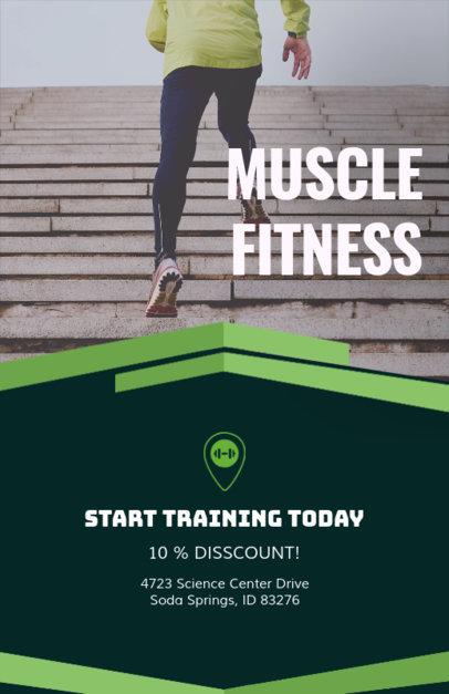 Discount Online Flyer Maker for Fitness Businesses 92e