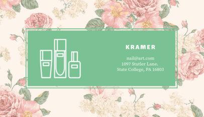 Nail Art Business Card Maker 112b