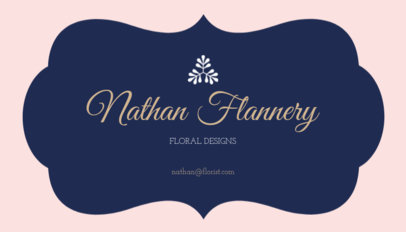 Floral Design Business Card Template 152b