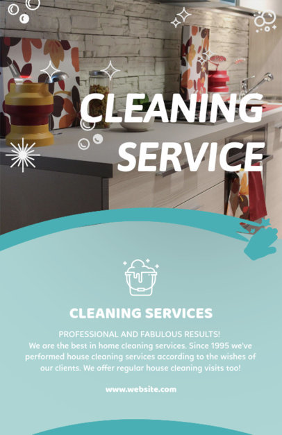 flyer template for house cleaning services