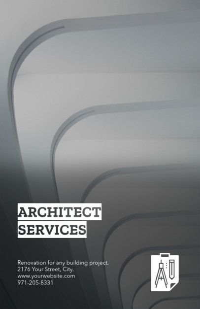 Architect Studio Online Flyer Maker 245c