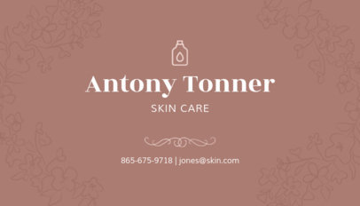 Dermatologist Business Card for Skin Card Businesses 203e