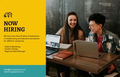 Job Advertisement Online Flyer Maker 297e
