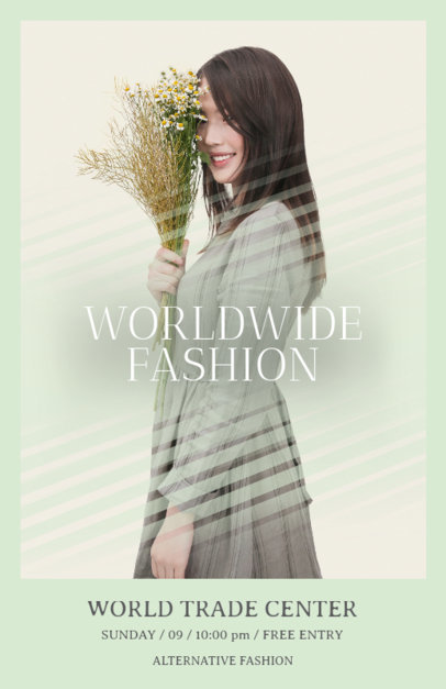 Online Flyer Maker for Fashion Shows 167a