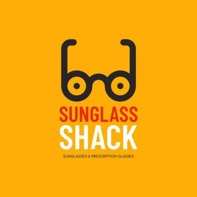 Sunglasses Shop Logo Maker 1256