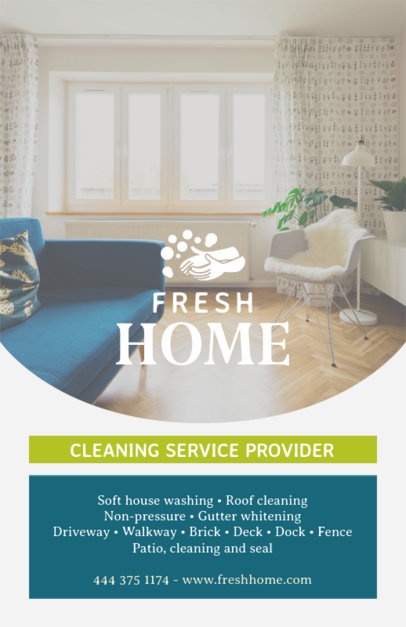 House Cleaning Online Flyer Maker 271b
