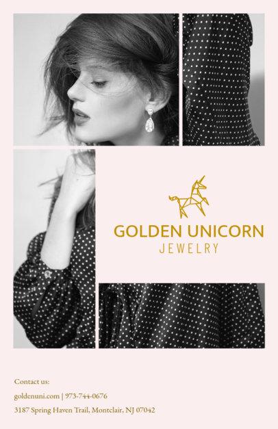 Jewelry Store Online Flyer Maker 301c