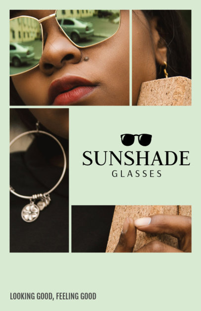Sunglasses Online Flyer Maker 301d