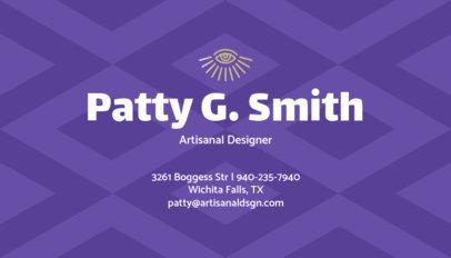 Artisanal Designer Business Card Maker 305b
