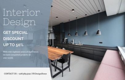 Interior Design Online Flyer Maker 302a