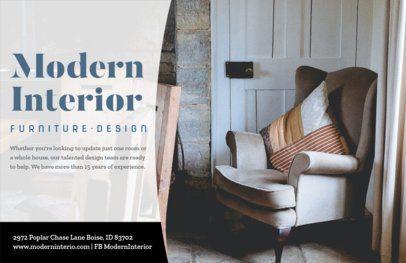 Furniture Design Online Flyer Maker 302e