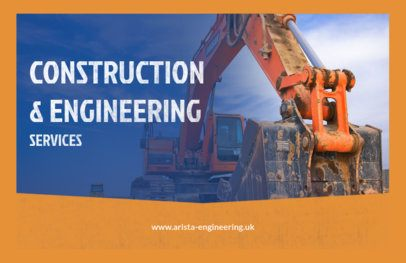 Custom Flyer Maker for Engineering & Construction Services 287e