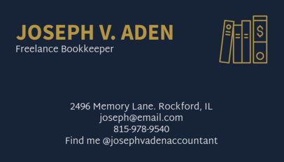 Creative Accounting Business Card Maker 68e