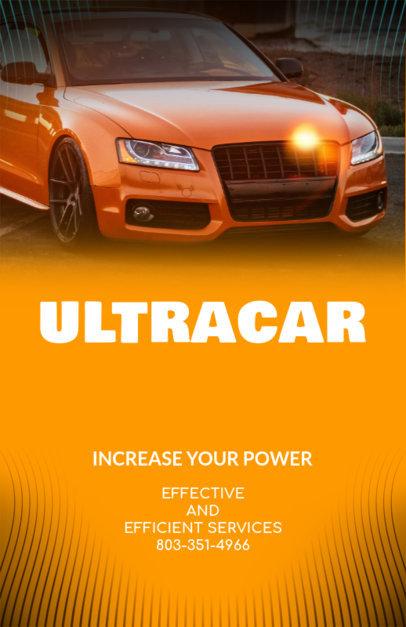 Car Salesman Online Flyer Maker 313d