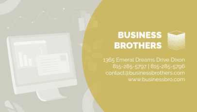 Tax Preparer Business Card Maker 321d