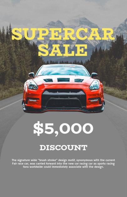 Car Sale Online Flyer Maker 277e