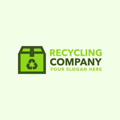 Online Logo Maker for Recycling Agencies 1255