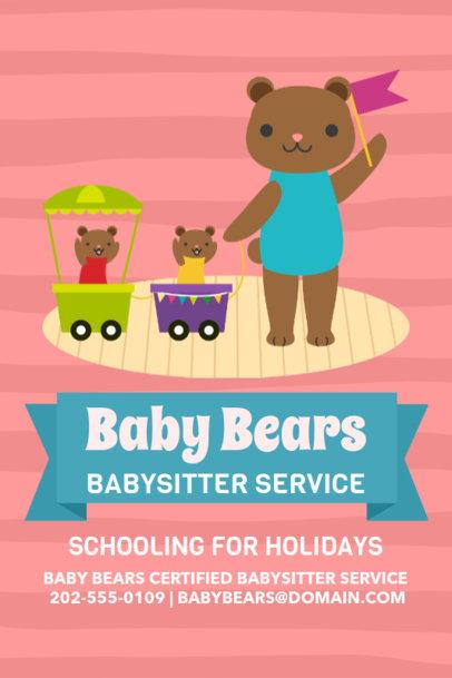 Babysitter Online Flyer Maker 326d