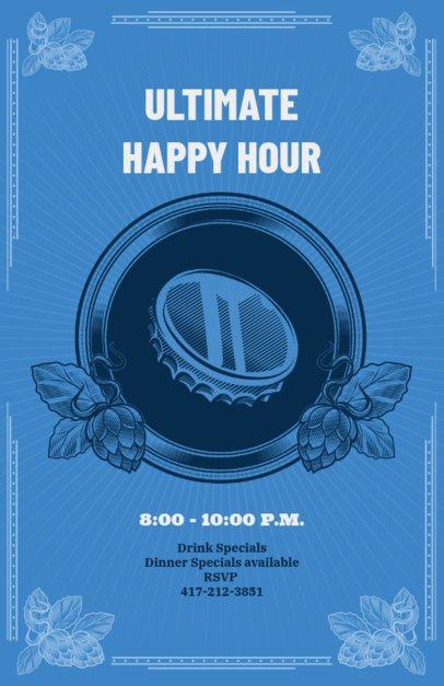 Online Flyer Maker for Drink Specials 135d